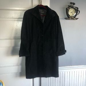 Wine s Terry Lewis Classic Luxuries Leather Coat.